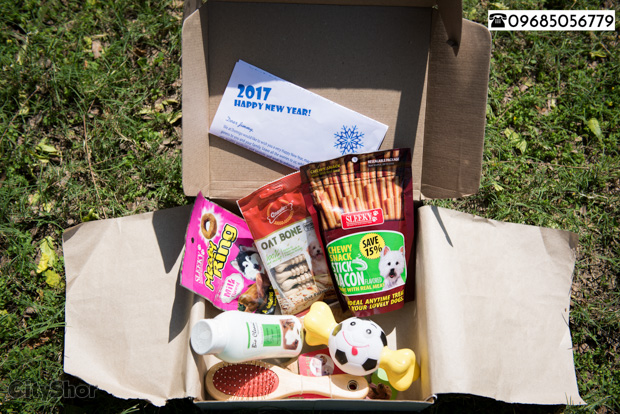 Subscribe to a customised care box for the man's best-friend