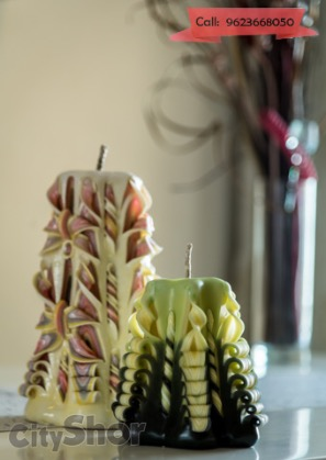 Candles that look like a dream? Only at Punnya Indani's!
