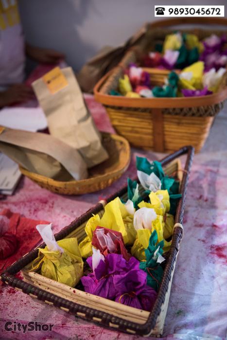 Colour the town, spread smiles on the way! Holi hai!