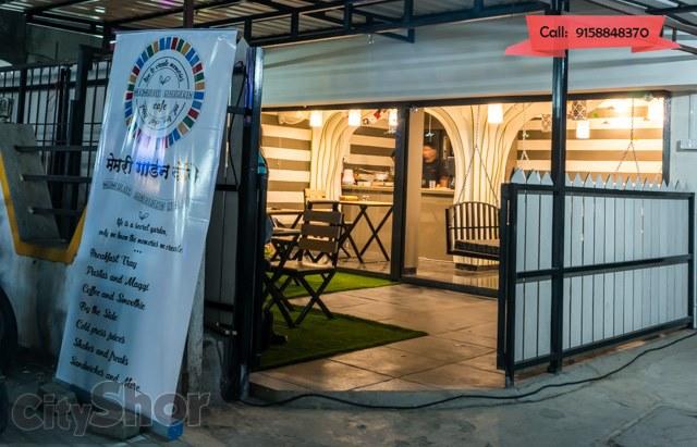 Eat, play games & chill in Memory Garden Café in Bavdhan!