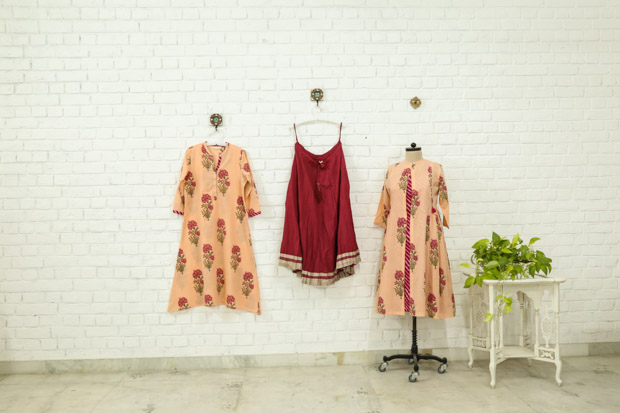 Unique Jaipur Block Prints in apparels only @ Travelers Home