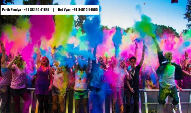 Only Bollywood Theme based Holi Party of City!