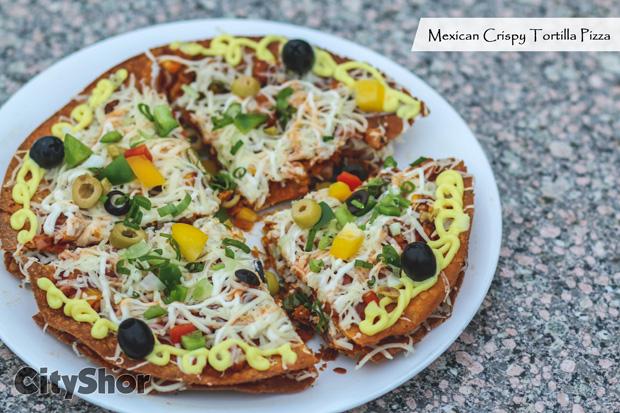Mexican Crispy Tortilla Pizza & More MustTrys @Zero Gravity!