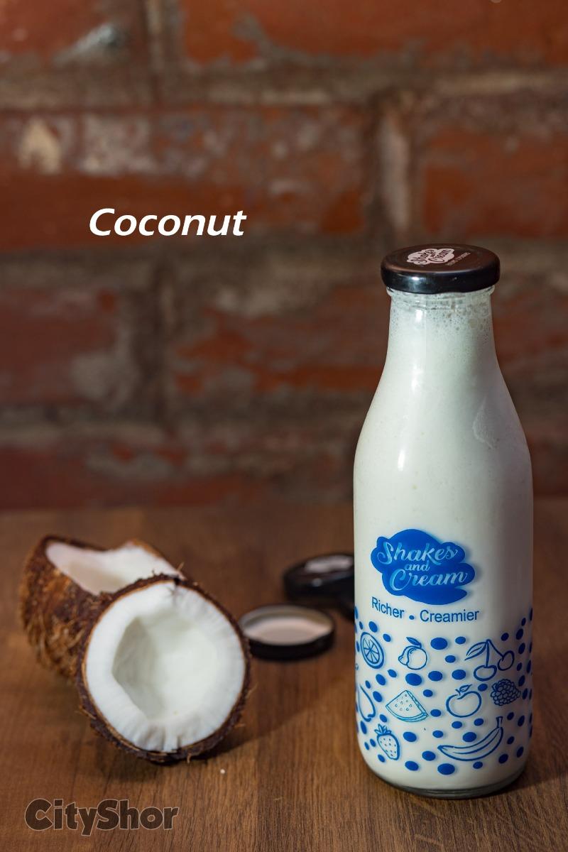 20+ unique flavours of Milkshakes at Shakes & Cream!