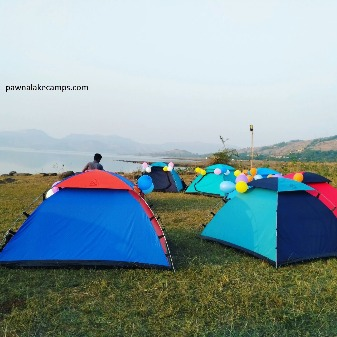 Make Your Summer Evenings Blissful By Camping at Pawana Lake