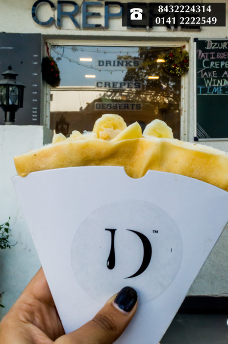 Go French in Jaipur with this Delicious Crepes Takeaway!!