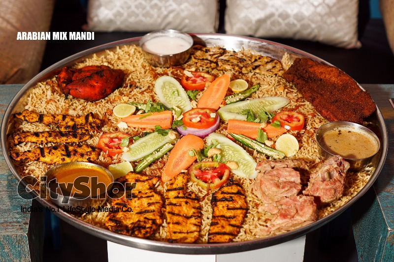 Arabian food fiesta at Barkaas, Marathahalli!