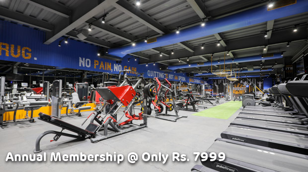 Annual Membership of The Fitt wave @ only Rs. 7999