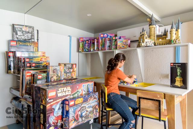 Comics and Brics Cafe in Sadashiv Peth is a heaven on earth