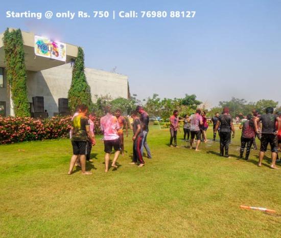 Holi party at Serenity Proximus by Bakeri