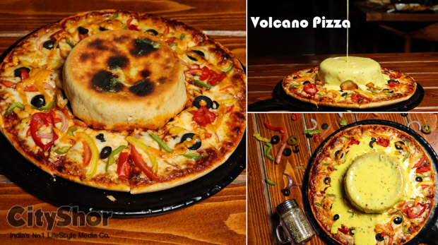 Volcano Pizzas & more by Cuppuccino cafe | Now at SBR