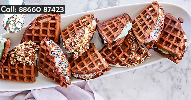 60+ flavours of Waffles at Icecream Festival 2.0