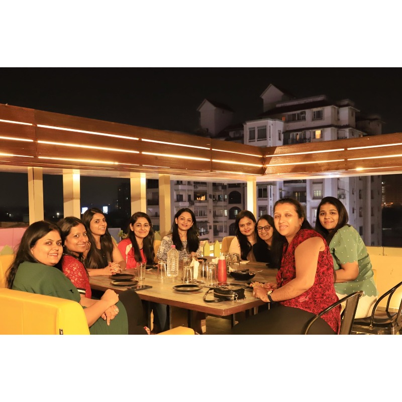 First Rooftop with a Sky Dining Deck - Uptown Dusk Bistro
