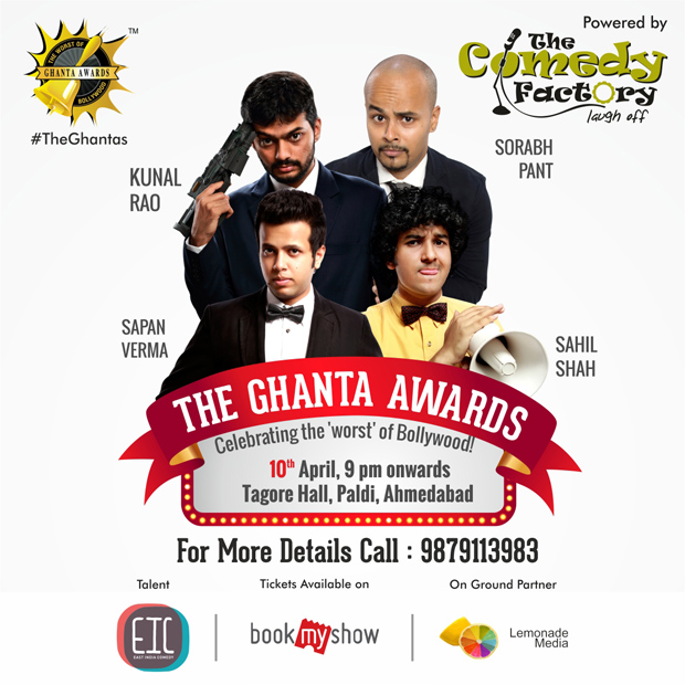 The Ghanta Awards by The Comedy Factory!
