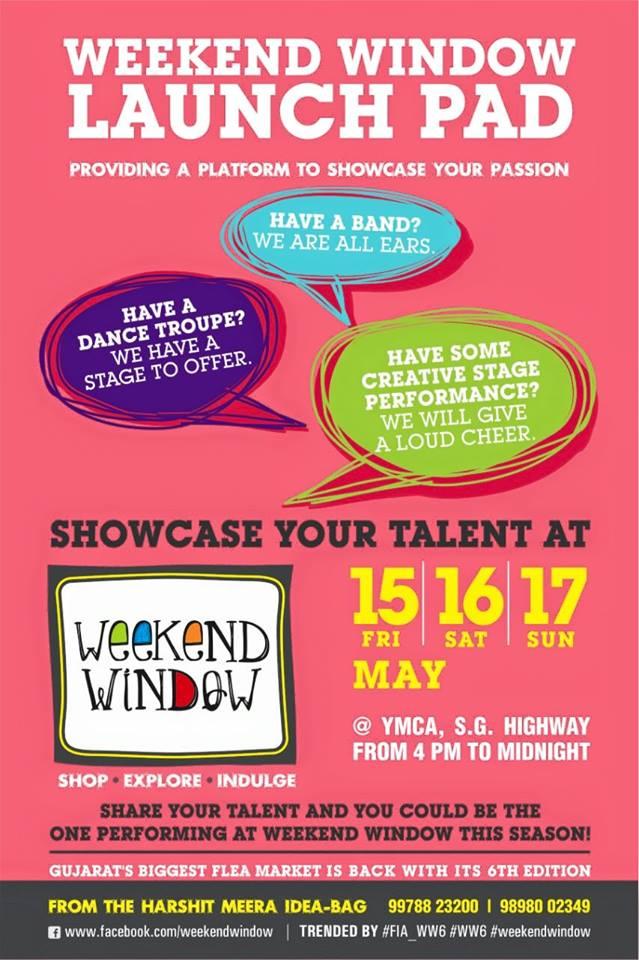Weekend Window - show your talent!