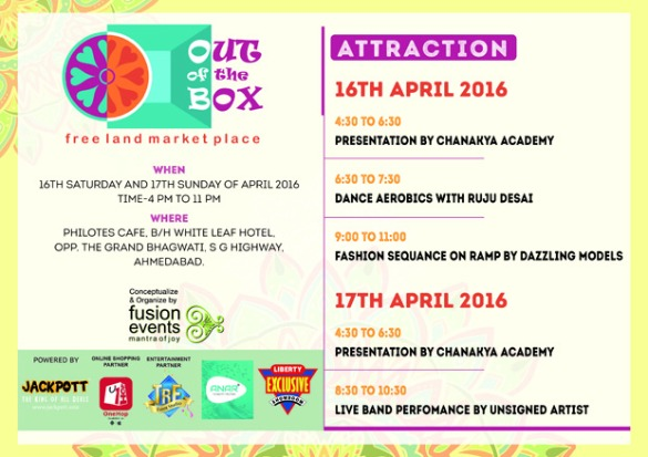 Brace yourselves for a plethora of fun at OUT OF THE BOX