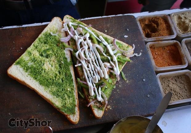 Indulge in a 6 LAYER SANDWICH at BIG BITE