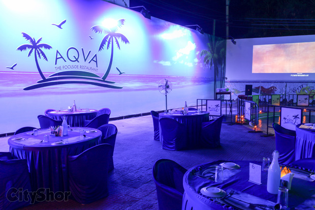 Experience Goa in A'bad at AQVA - The poolside restaurant