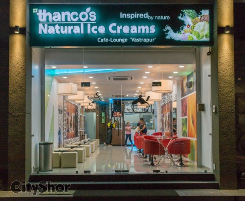 Indulge in the best of goodies at THANCO'S NATURAL ICE CREAM - CAFE