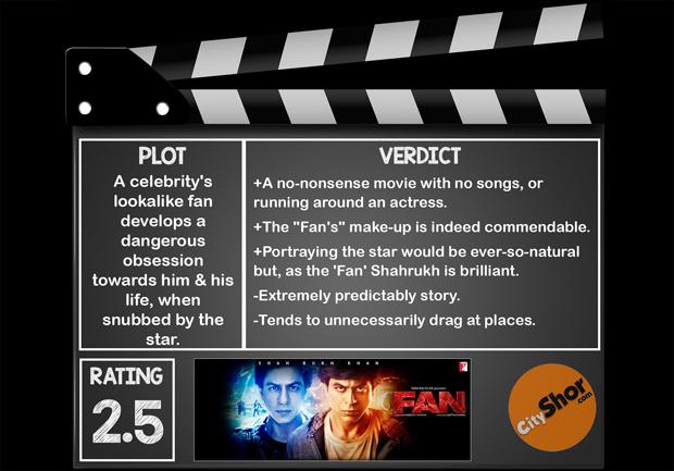 Movie Review - FAN