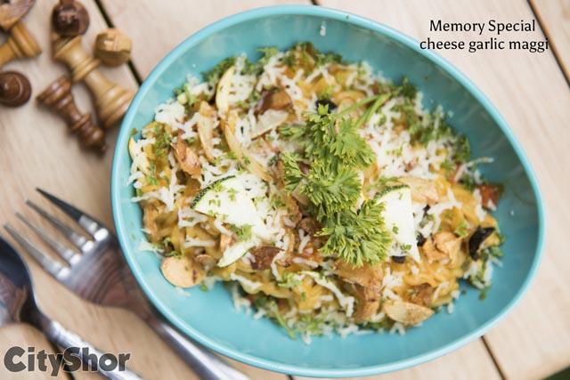 Yummy Freakshakes & special maggi @ Memory Garden Cafe!