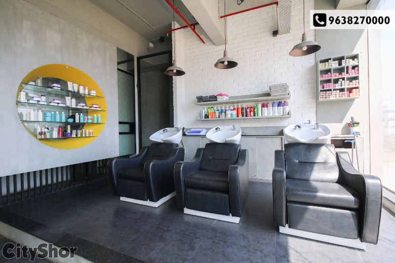 Avail Flat 50% off on all Services @ Cher Saloon.