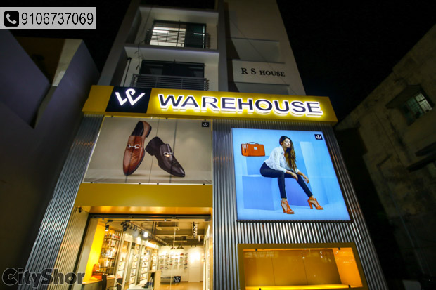 Latest footwears at unbelievable prices @ Warehouse.