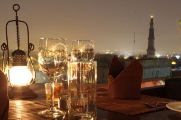 Dine by the Sight of Picturesque Qutub Minar at this Lounge!