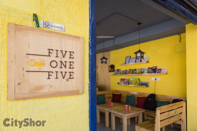 CAFE FIVE ONE FIVE: For delicious, tummy filling food