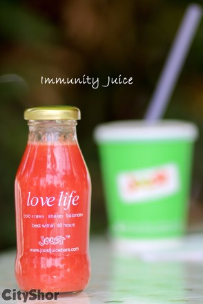 Fresh and finest juice and salads only @ JOOST JUICE