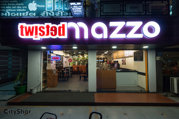 Taste only the authentic @ Twisted Mazzo.