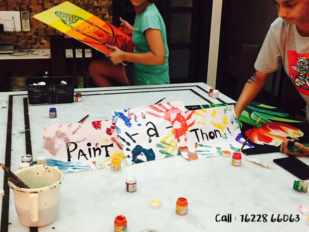 Artsy Heads, Sign Up for this Fun Paint-o-Thon this Weekend!