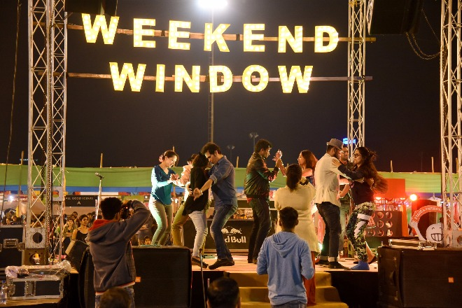 Experience live performances only @ Weekend Window