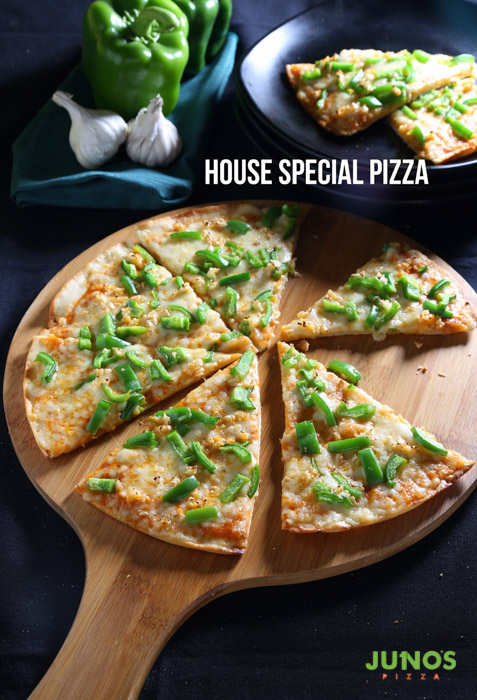 2 Pizzas at only rs 199 Junos Pizza