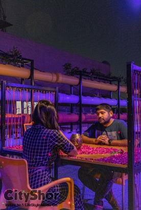 New Couples only rooftop cafe - Bliss | Bhattha