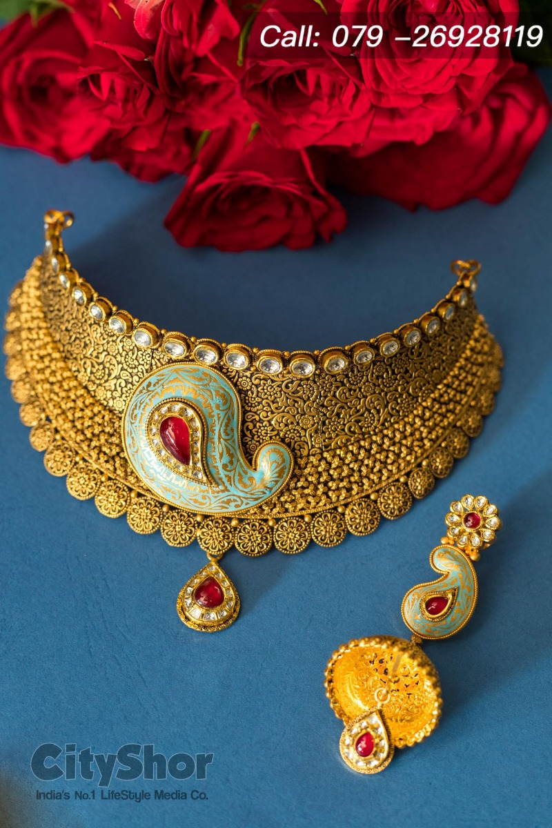 Buy real gold jewellery on Akhatrij at D B Zaveri