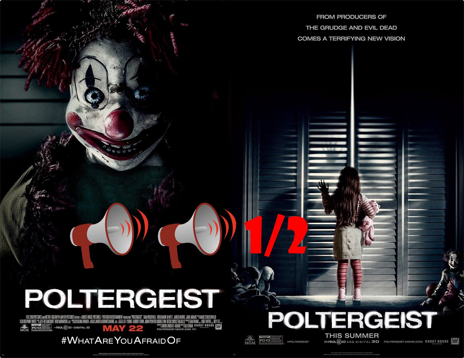 movie review the poltergeist Ghostly remake is scary but not as good as the original read common sense media's poltergeist (2015) review, age rating, and parents guide.
