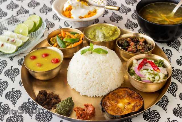 Khorisa first authentic assamese restaurant in town for Assamese cuisine in delhi