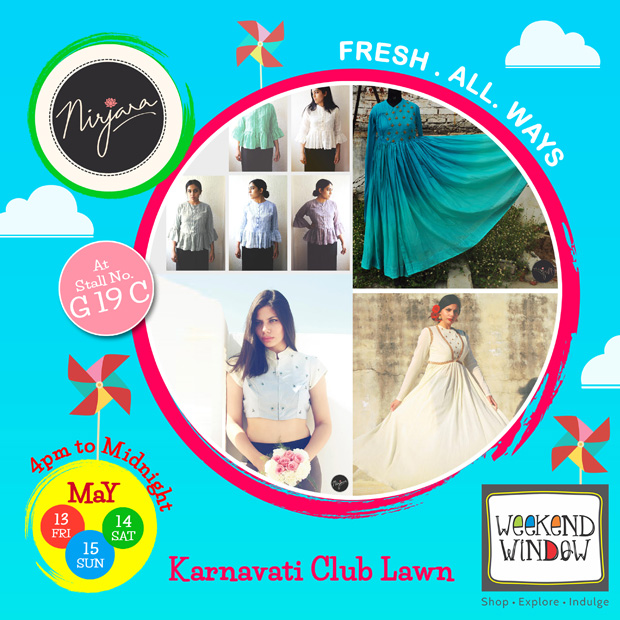 Lovely Fashion labels await you WEEKEND WINDOW