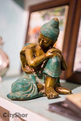 Style it with Buddhism inspired exotic effigies at Shambhala
