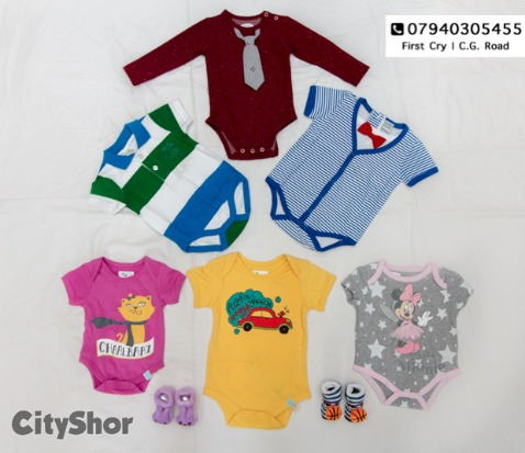 Perfect summer collection for children from 0-5 years