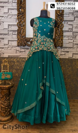 Wear the summer hues crafted at Aryan's Designer Studio