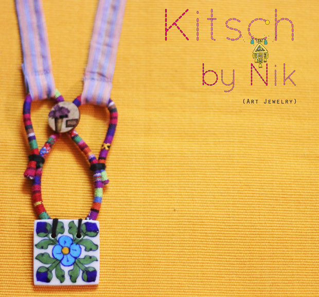 Grab the unique handcrafted jewelry @ Kitsch by Nik