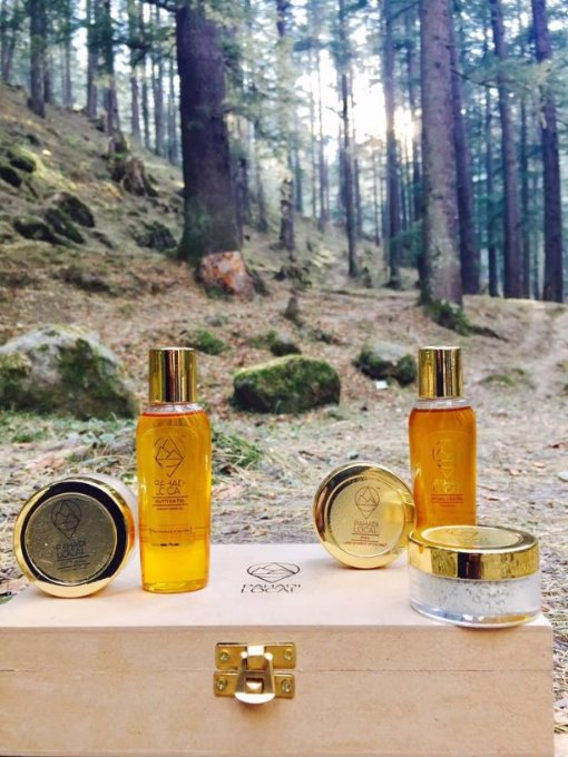 Goodness of Himalayas in Skin and Haircare Products