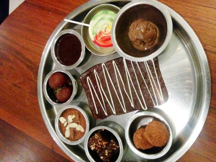 Experience #ChocolateComa with DesiKlub's Chocolate Thali