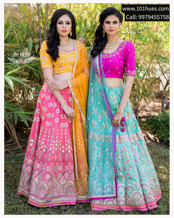 Ahmedabad's Leading Fashion-On-Rent Store- 101Hues
