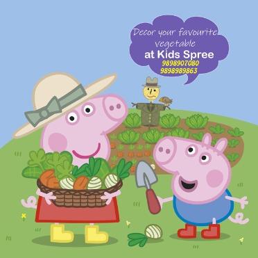 Peppa Pig themed kids carnival Kids Spree Starts today