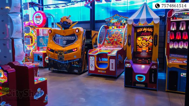 City's Largest Gaming Arena- Shott