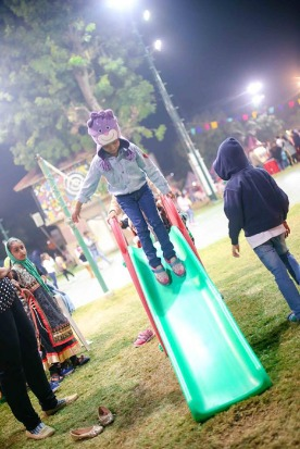 20+ rides & 10+ life size games at Kids Window