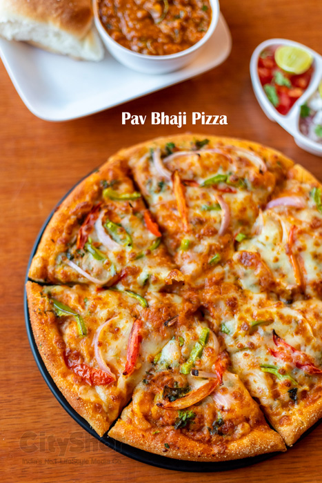 Desi flavours of Pizza starting @ 79 Cheelizza in Ahmedabad